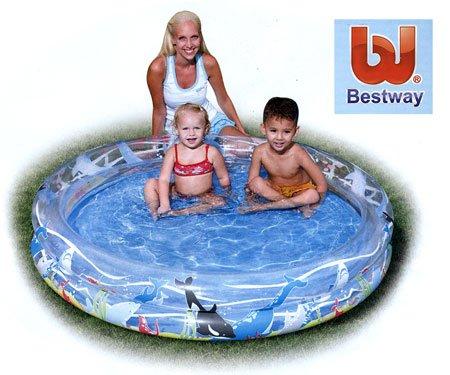 piscina infantil peces