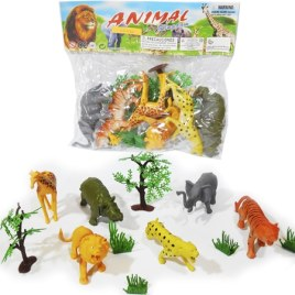 Animales Selva Goma