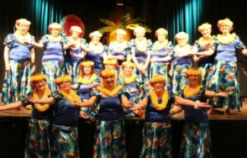 Golden Hula Girls 2015
