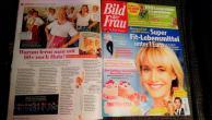 Wir in der Größen Frauenzeitschrift Europas!