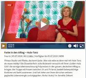 Toller WDR-Bericht! Hula-Farbe in den grauen Alltag bringen