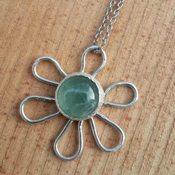 花非花│銀飾項鍊