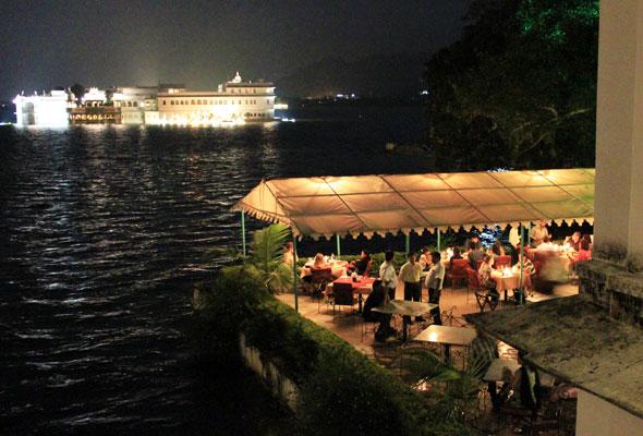 Ambrai Restaurant at Amet Haveli