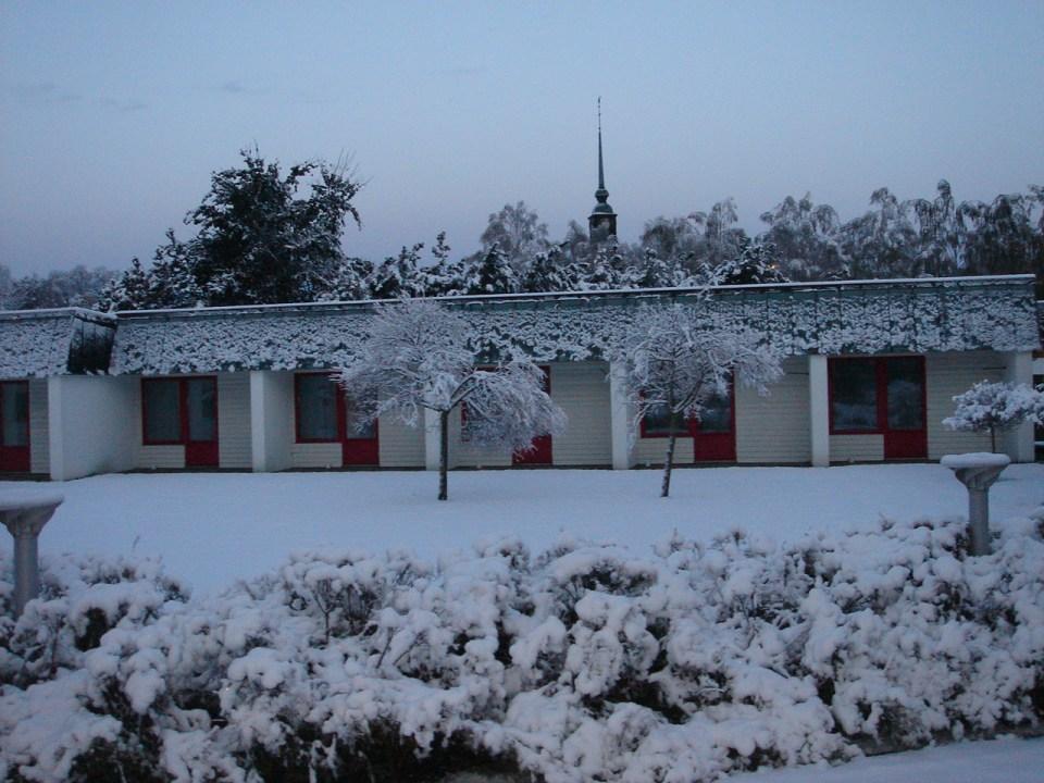 Aah the snow!