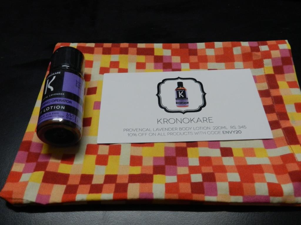 Kronokare Provencal Lavender Body Lotion