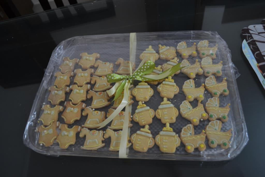 The Baby Shower Cookies by The Orange Zest