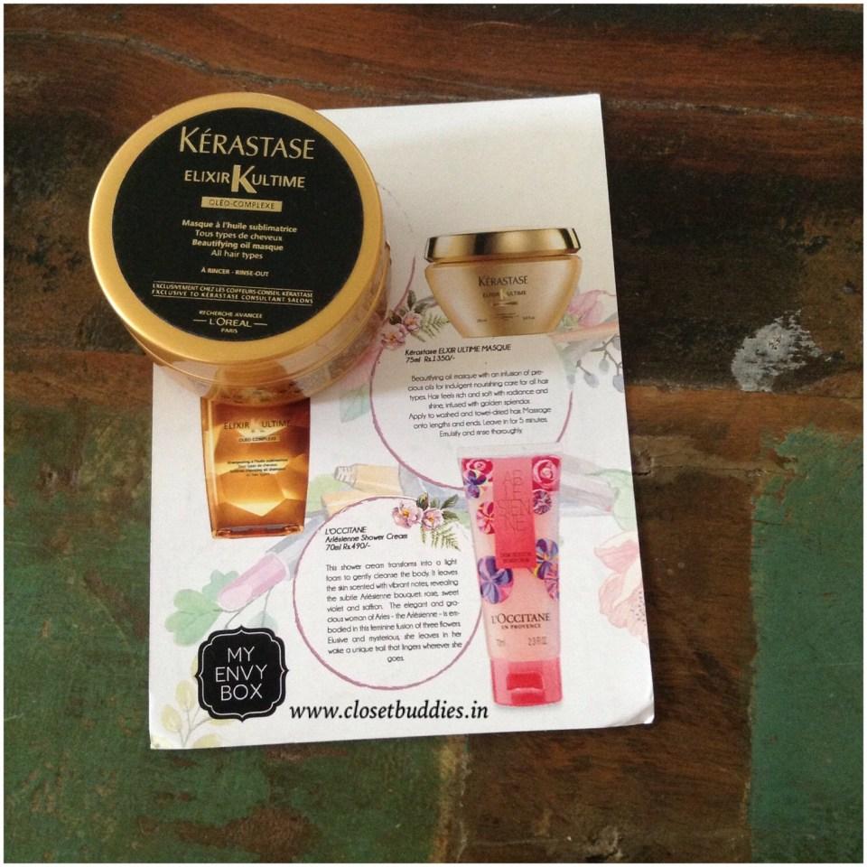 Kérastase Elixir Ultime Sublime Cleansing Oil Enriched Shampoo