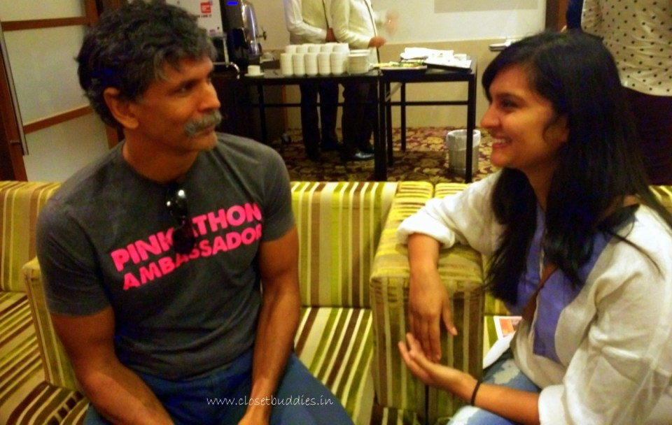 I cannot still believe it's Milind Soman!