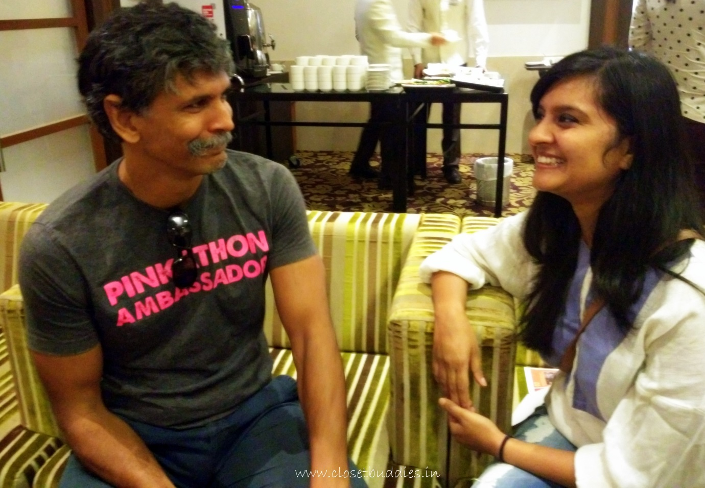 On CB's Couch- Milind Soman