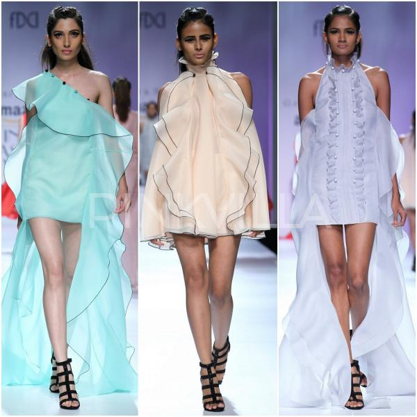 Gauri and Nainika Amazon India Fashion Week2