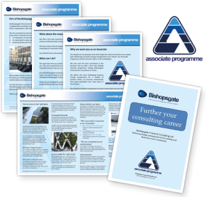 Associate Programme Collateral Material Design London