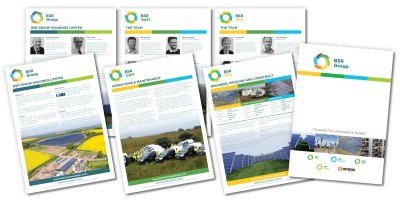 British Solar Renewables Literature Design