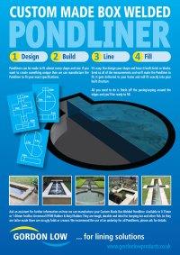 Gordon Low Box Welded Pondliner Design