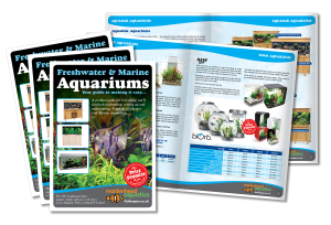 Freshwater & Marine Aquarium Brochure Design 2013