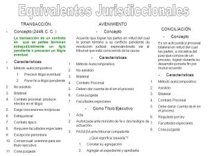 Equivalente jurisdiccional