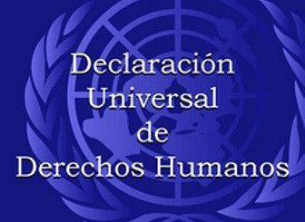 DeclaraciónUniversal de los Derechos Humanos