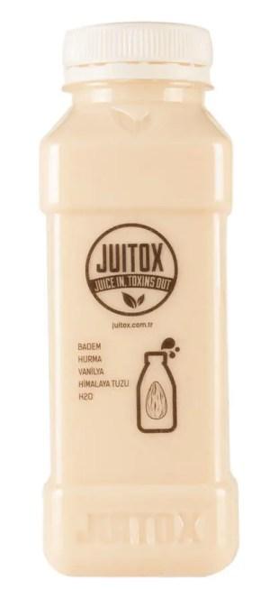 %100 doğal badem sütü içeceği