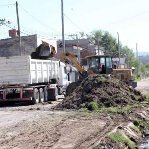 obras muni limpieza calle 1