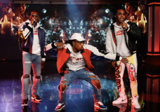 Migos Perform 'Bad and Boujee' On 'Jimmy Kimmel Live!'