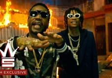 Juicy J & Wiz Khalifa – Cell Ready (Video)