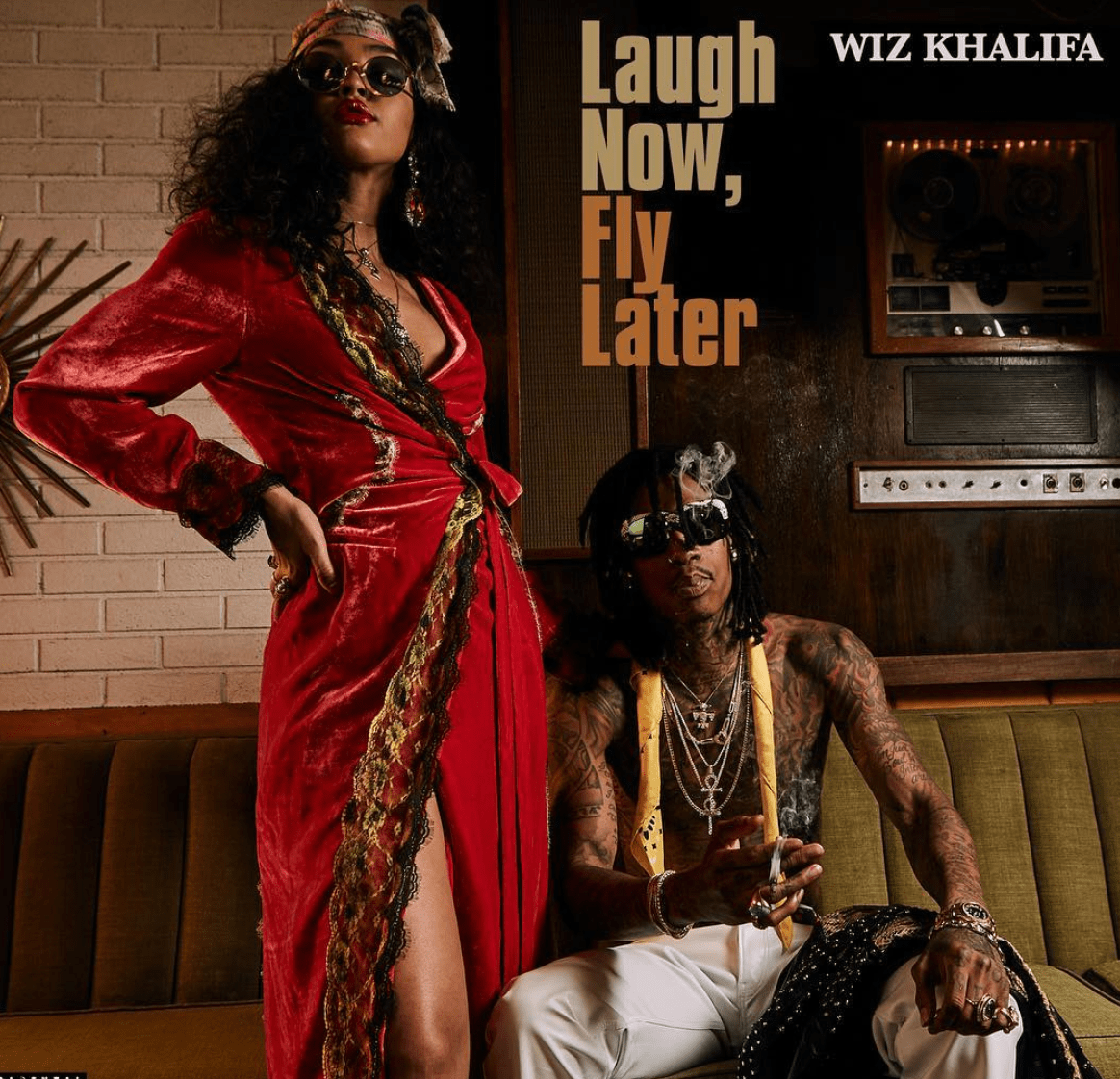 STREAM: Wiz Khalifa – Laugh Now, Fly Later