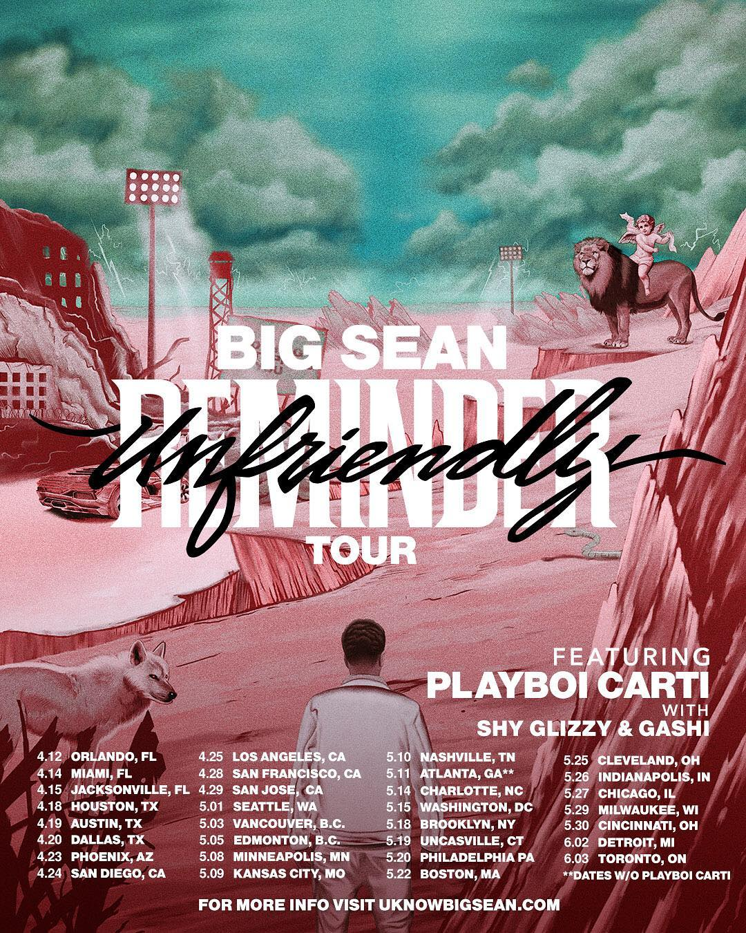 Shy Glizzy Is Going On Tour With Big Sean & Playboi Carti