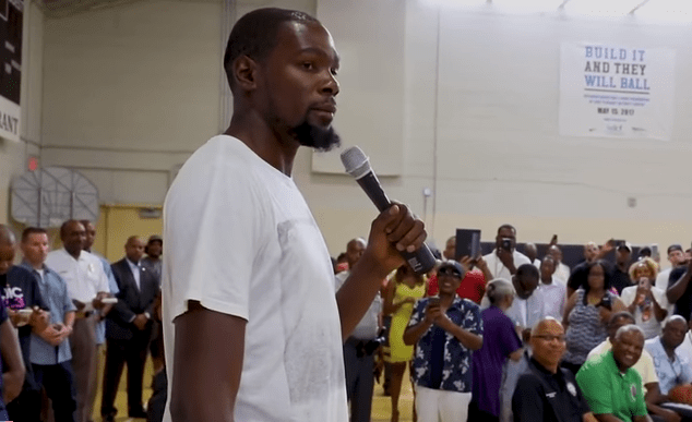 GIVING BACK: Kevin Durant is Donating $10 Million to P.G. County