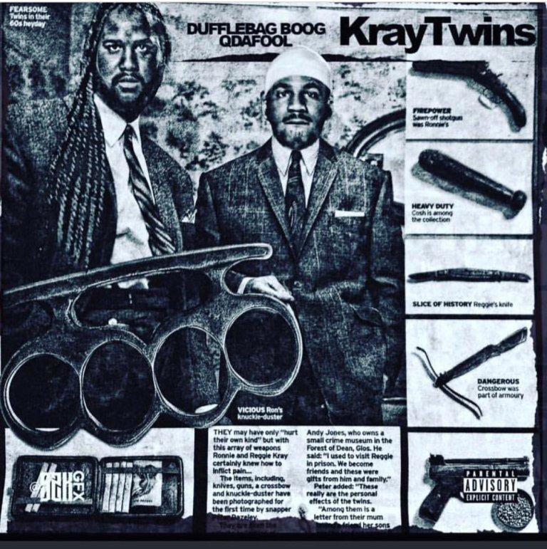 Q Da Fool & Duffle Bag Boog – Kray Twins (Stream)