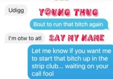 "Young Thug Feat. Dae Dae – ""Say My Name"""