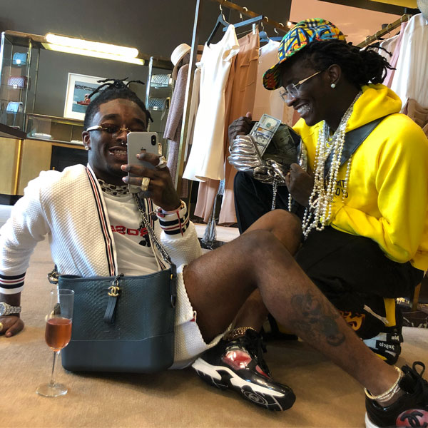 "Young Thug Feat. Gunna & Lil Uzi Vert – ""Chanel (Go Get It) (Remix)"""