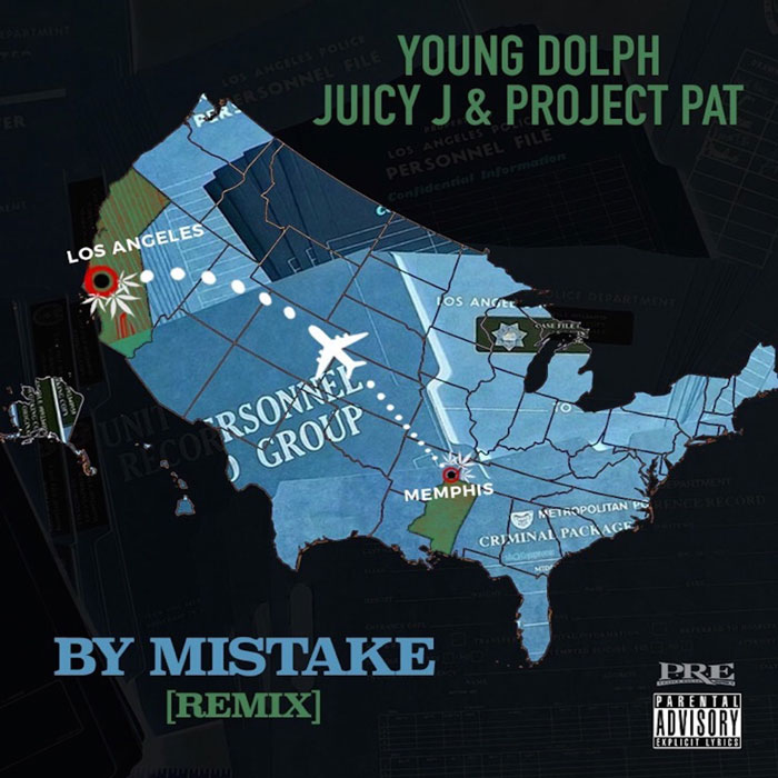 """Young Dolph Feat. Juicy J & Project Pat – """"By Mistake (Remix)"""""""