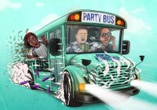 "Rich The Kid, Famous Dex & Jay Critch – ""Party Bus"""