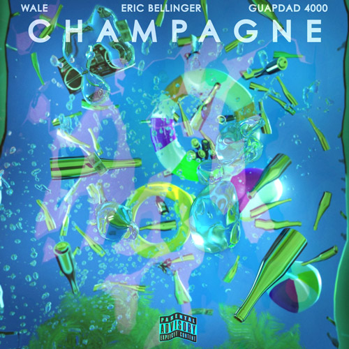 "Wale Joins Eric Bellinger & GUAPDAD400 on ""Champagne"""