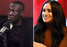 PICS/VIDEO: Grime Rapper Stormzy Defends Meghan Markle On Ebro In The Morning