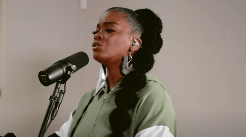 "Ari Lennox Performs ""Chocolate Pomegranate"" for Genius' 'Open Mic'"