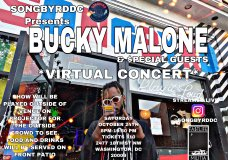 Bucky Malone To Host And Perform For A Songbyrd Virtual Concert Tonight