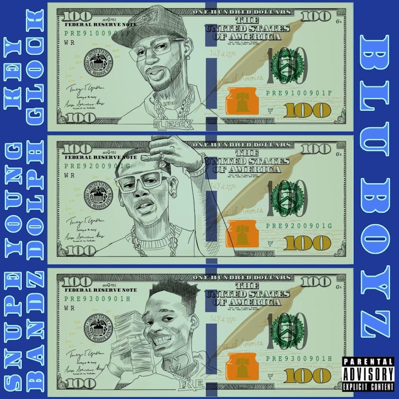 "Young Dolph & Key Glock Feat. Snupe Bandz – ""Blu Boyz"""