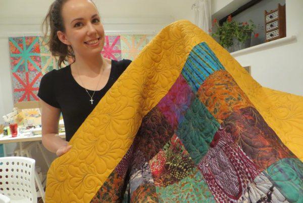 Ellie's Uni quilt