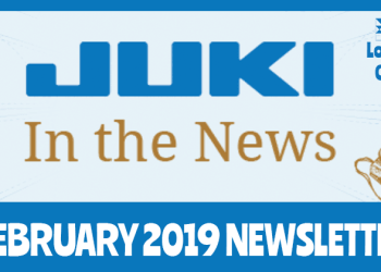 February 2019 Newsletter - Juki In The News