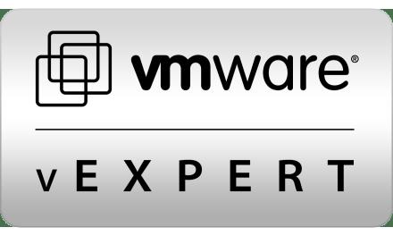 vExpert: una conferma e uno nuovo