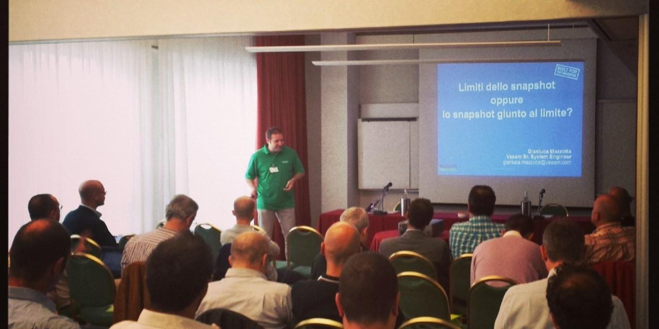 Unplugged: le presentazioni di Veeam
