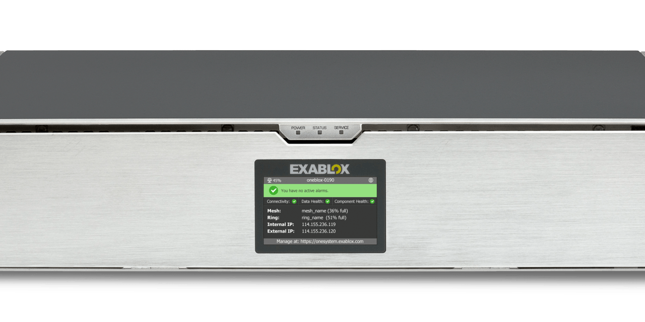 Exablox: (smart) object storage for the SMB