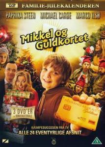 Cover til Mikkel og Guldkortet på DVD