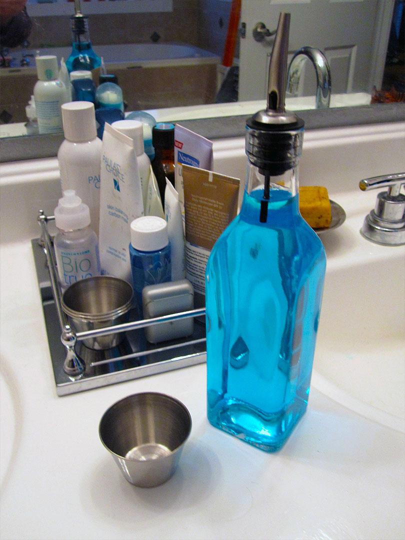 New Mouthwash Dispenser