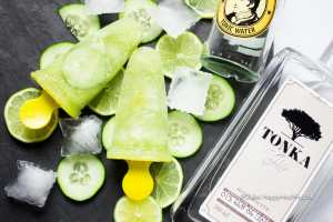 Recipe for grown up popsicles - Tonka Gin Tonic Popsicles