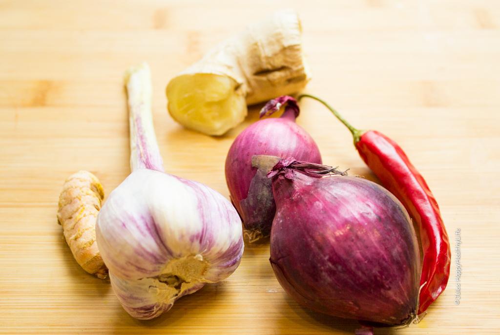 Gewürze für Asia Suppe mit Fleischbällchen - Jules HappyHealthyLife Food Blog