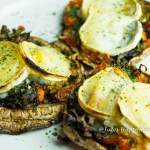 glutenfreie Portobello Pilz Pizza - Jules HappyHealthyLife glutenfreier Food Blog