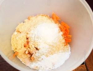 Vegan recipe for gluten free Carrot Apple Muffins