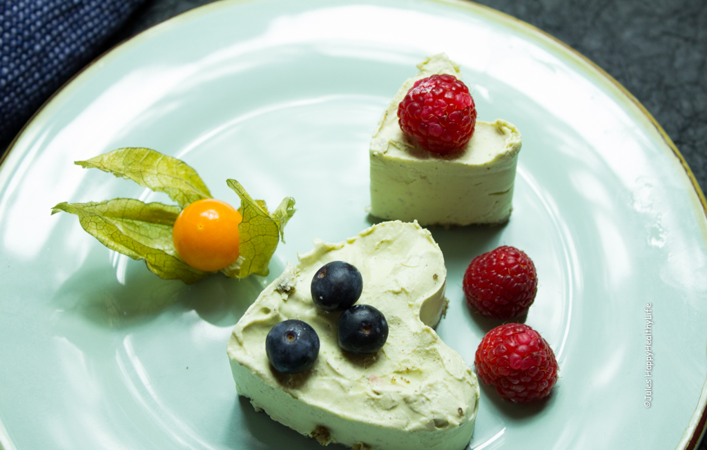 Limonen Cheesecake vegan, glutenfrei - Jules HappyHealthyLife Food Blog