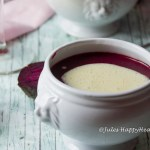 Glutenfreier Rote Bete Suppe mit Apfel Meerrettich Schaum - Jules HappyHealthyLife glutenfreier Food Blog